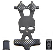 AYA-nf002 Creative Skull Pattern Bikini Style Silicone Adornment for iPhone