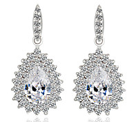 Fashion Zircon Peacock Earrings