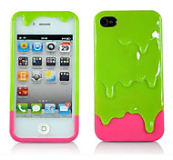 2-In-1 Melting Icream  Pc Case for iPhone 5/5S