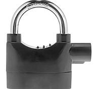Alarmed Padlock Home Garage Electronic Alarm Security Locks  Black