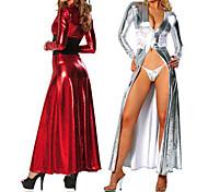 Vestuario teatral 2 Color Deluxe cuero de la PU de la Mujer