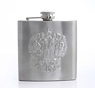 Personalized Father's Day Gift 5oz Metal Capital Letters Flask
