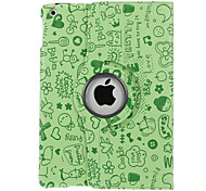 Cute Pattern Quality PU Full Body Case with Stand for iPad Air (Assorted Colors)