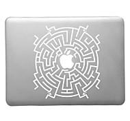 caso duro del patrón de laberinto transparente de la PC para el aire del macbook (colores surtidos)