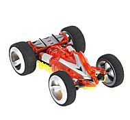 Wltoys Mini RC Racing Car with Cardboard (Red & Yellow)