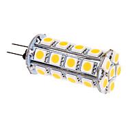 6W G4 Bombillas LED de Mazorca T 30 SMD 5050 480 lm Blanco Cálido DC 12 V