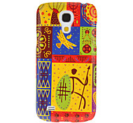 Abstract Painting Pattern Protective Hard Back Cover Case for Samsung Galaxy S4 Mini I9190