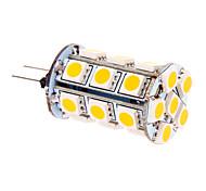 5W G4 LED-maïslampen T 24 SMD 5050 370 lm Warm wit DC 12 V