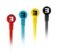 SENIC EST-R8 pliable écouteurs In-Ear pour PC / iPhone / iPod / iPad / Samsung