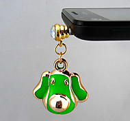 Fashion Green Dust Plug For Anything Phone