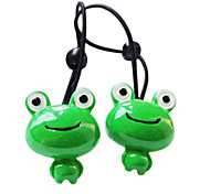 Plastic Smiling Frog Hair Rope for Pets Dogs