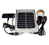 2W 36-LED White Light LED Solar Light Mobile Phone Charger Lighting System