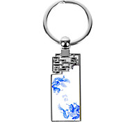 Personalized Engraved Gift Creative Dargon Pattern Keychain