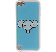Cute Elephant's Head Pattern Epoxy Hard Case for iPod Touch 5