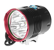 Luci bici , Torce LED / Luci bici - 3 Modo 5200 Lumens 18650 x 4 BatteriaCampeggio/Escursionismo/Speleologia / Uso quotidiano /