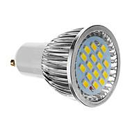 6W GU10 LED Spot Lampen 16 SMD 5730 640 lm Kühles Weiß AC 85-265 V