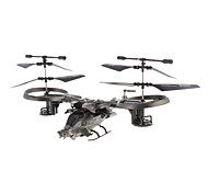 ATTOP YD-718 4 canales RC helicóptero con giroscopio