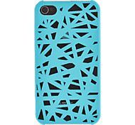 Solid Color Bird's Nest Designed Matte PC Hard Case for iPhone 4/4S (Assorted Colors)