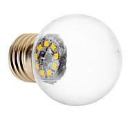 LED Kugelbirnen E26/E27 1.5W 90 LM 3000 K 9 SMD 2835 Warmes Weiß AC 220-240 V