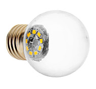 1.5W E26/E27 LED Kugelbirnen 9 SMD 2835 90 lm Warmes Weiß AC 220-240 V