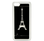 New Sense Tour Eiffel Flash Light LED changeant de couleur Hard Case pour iPhone 5C