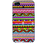 Colorful Pattern Back Case for iPhone 4/4S