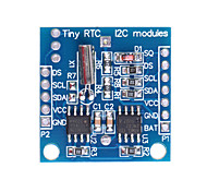 (For Arduino) DS1307 I2C RTC DS1307 24C32 Real Time Clock Module - Blue