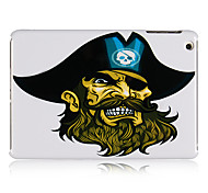 Pirate Pattern Plastic Back Case for iPad mini 3, iPad mini 2, iPad mini
