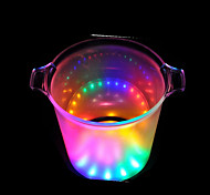 LED Flash Ice Bucket