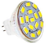MR11 4,5 Вт 15x5730SMD 310-320LM 6000-6500K холодный белый свет Светодиодные пятно лампы (12-24V)