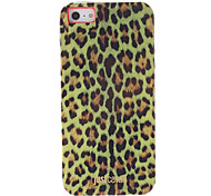 Fashionable Yellow Leopard Print Pattern Smooth Anti-shock Case for iPhone 5/5S