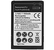 1500mAh Cell Phone Battery for HTC SNAP S511, TILT 2, TOUCH PRO 2