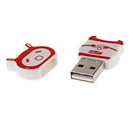 Mini USB Memory Card Reader (Red/Black/Blue)