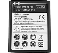 2300mAh Cell Phone Battery for Samsung i9300 Galaxy S3 S 3 SIII S III EB-L1G6LLU