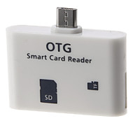 OTG Smart Card Reader Connection Kit (Blanco)