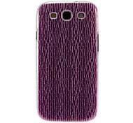 Lila Baum Streifen-Muster Kunststoff-Schutz stark Fall-Abdeckung für Samsung Galaxy S3 I9300