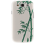 Sinocalamus Oldhami Pattern Plastic Protective Hard Back Case Cover for Samsung Galaxy S3 I9300