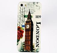 Поликарбонат Футляр Stamp Pattern Лондонский Биг-Бен для iPhone 5/5S