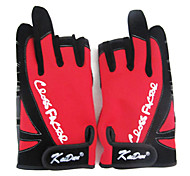 Three Mitten Canvas Red Keep Warm Waterproof Fishing Glove