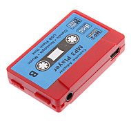 TF Card Reader MP3-Player Tape-Form, Rot,