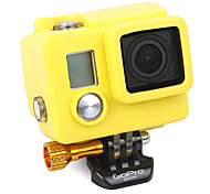 Gopro Accessories Protective Case For Gopro Hero 3 / Gopro Hero 3+ Silicone Yellow