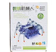 Puzzle High Simulation DIY Assembled Spider Robot Toy For Children