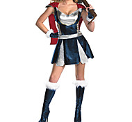 Roman Tough Warrior Women's Halloween Costume
