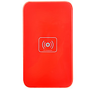 Qi Wireless-Charger Red Charging Pad mit Gold-Receiver für Samsung Galaxy Hinweis 2 N7100