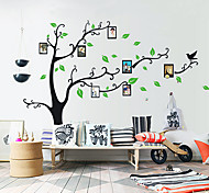 Botanical Wall Stickers Plane Wall Stickers Photo Stickers,Self-adhesive Plastic Material Washable / Removable Home Decoration Wall Decal