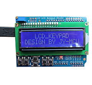 jy-MCU carte d'extension de clavier LCD (pour Arduino), avec interface bluetooth, des écrans bleus, des présentations vidéo
