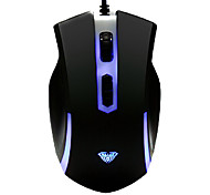 DPI istantanea commutazione multi-tasti Super Dazzle LED Gaming Wired mouse PS / 2