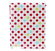 Dot Design dur Retour cas / couverture pour iPad2/3/4