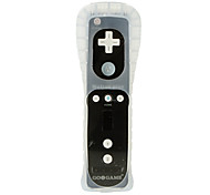 Motion Plus Controller for Wii with Silicone Case and Wrist Strap