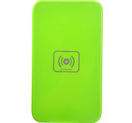 Qi Wireless Charger Green Charging Pad with Blue Receiver for Samsung Galaxy Note3